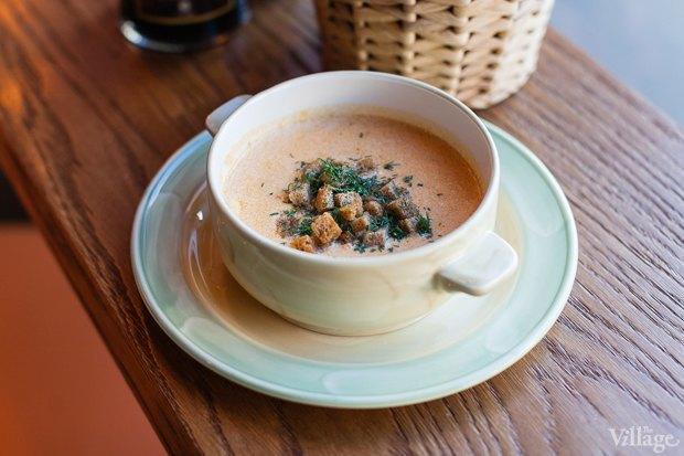 Крем-суп из копчёного лосося и палтуса (обеденное предложение). Изображение № 20.