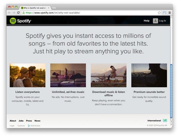 Spotify начал подготовку к запуску в России. Изображение № 2.