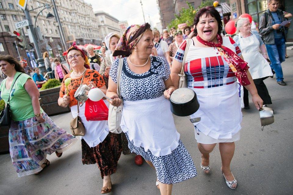 Шествие бабушек наТверской. Изображение № 18.