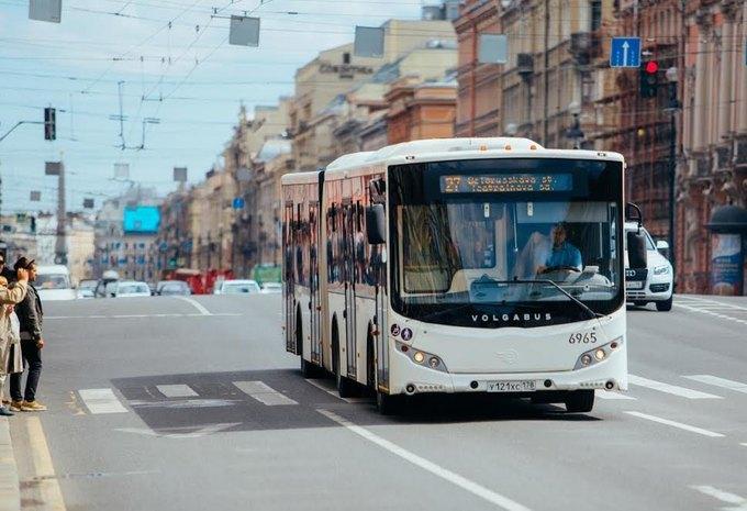 Наименования остановок вавтобусах Петербурга зазвучали наанглийском языке