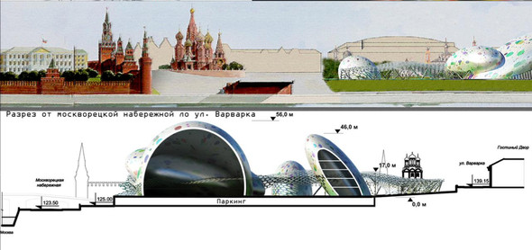 Москомархитектура выбрала 118 проектов парка в Зарядье. Изображение № 7.