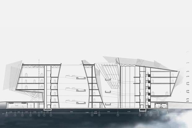 На бумаге: 8 нереализованных архитектурных проектов в Киеве. Зображення № 46.