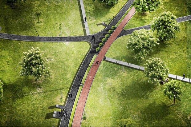 Как будет выглядеть обновлённый парк наРуставели. Изображение № 25.