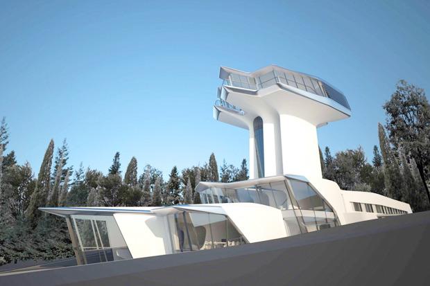 В Барвихе построили дом по проекту Захи Хадид. Изображение № 3.