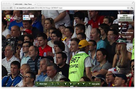 УЕФА предлагает отметить себя на интерактивной фотографии с Евро-2012. Изображение № 6.