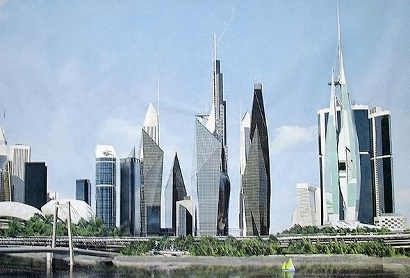 В Киеве хотят построить деловой центр «Киев-сити» и аналог Силиконовой долины — парк Bionic Hill. Изображение № 13.