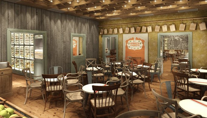 На Васильевском острове открылся ресторан «Пряности ирадости» . Изображение № 1.