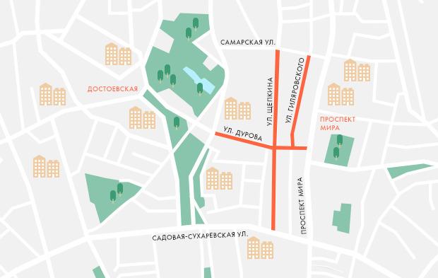 На Курбан-байрам перекроют движение по части улиц Москвы. Изображение №1.
