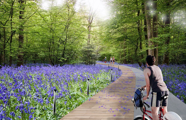 Проект благоустройства Крещатого парка. Изображение № 7.