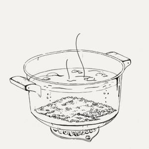 Завтраки дома: Каша изкиноа сминдальным молоком изкафе Fresh. Изображение № 3.