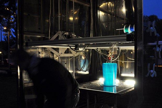 Дом печати: Как в Голландии строят здание с помощью 3D-принтера. Изображение № 5.