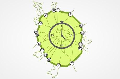 Водителям предложили выбрать способ нумерации съездов с МКАД. Изображение № 1.
