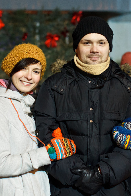 Люди в городе: Рождественская деревня ВВЦ. Изображение №24.