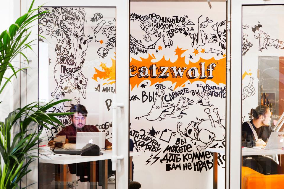 Офис недели (Москва): Catzwolf. Изображение №19.