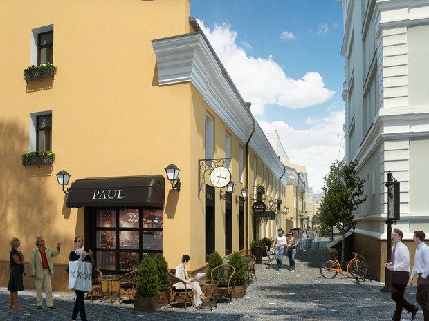 В центре Москвы появится гастрономическая улица. Изображение № 2.