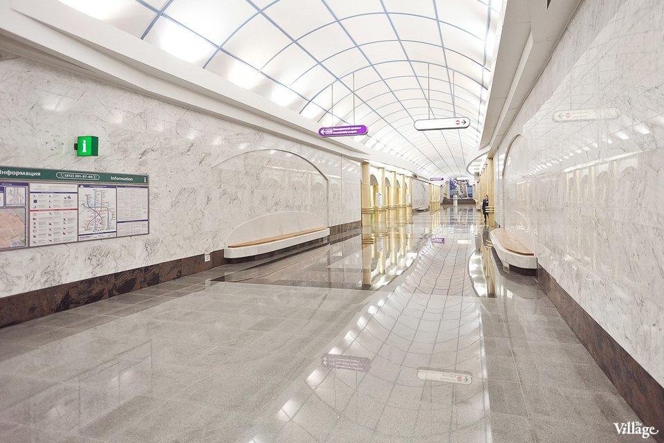 Фоторепортаж: Станции метро «Международная» и«Бухарестская» изнутри. Изображение № 30.