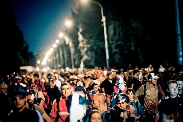 В этом году «Велоночь» будет посвящена Петергофу. Изображение № 2.
