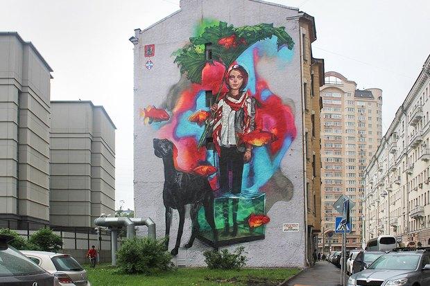 Пять художников освоих граффити для фестиваля «Лучший город Земли». Изображение № 1.