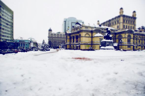 Белым по серому: Итоги снежного января в Киеве. Зображення № 19.