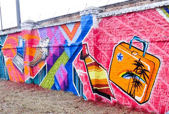В Киеве появились граффити рекордных размеров. Изображение № 8.