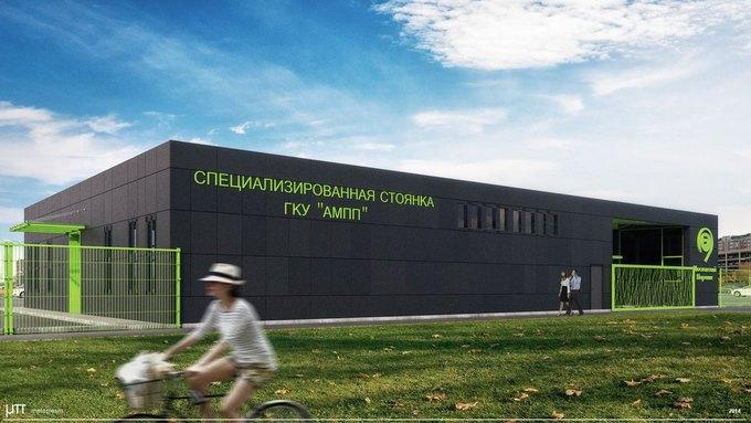 Для московских штрафстоянок разработали новый дизайн. Изображение № 2.