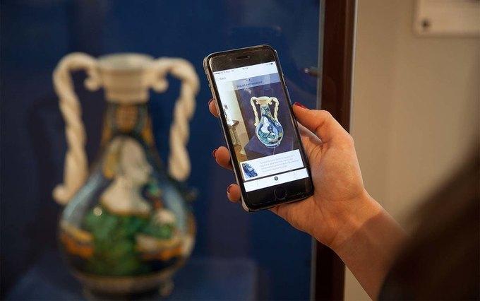Экспонаты Третьяковской галереи имузея имени Пушкина попали вприложение «Artefact»