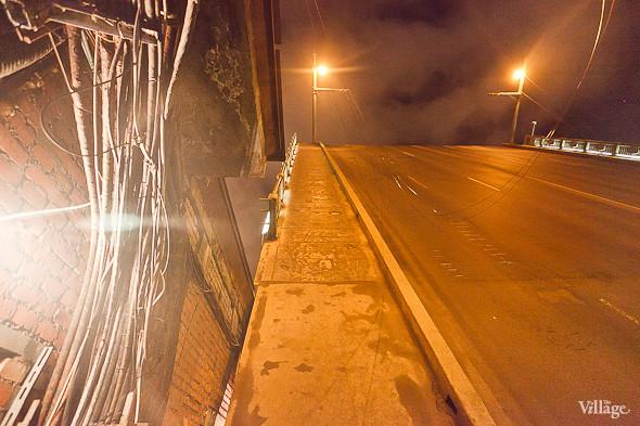 Фоторепортаж: Как разводят Дворцовый мост. Изображение № 38.