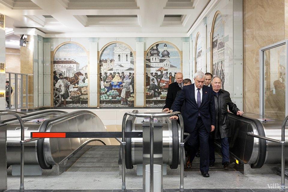 Фоторепортаж: Новый вестибюль «Спасской» изнутри. Изображение № 4.