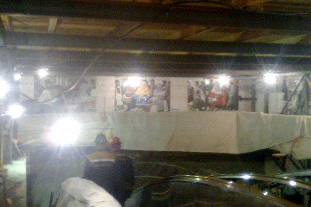 В Сети появились фотографии наземного вестибюля «Спасской». Изображение № 5.