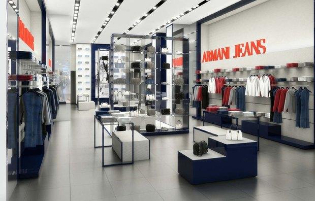В ТЦ «Галерея» откроется бутик Armani Jeans. Изображение № 1.