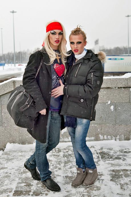 Люди в городе: Посетители концерта Lady Gaga в Москве и Петербурге. Изображение №28.