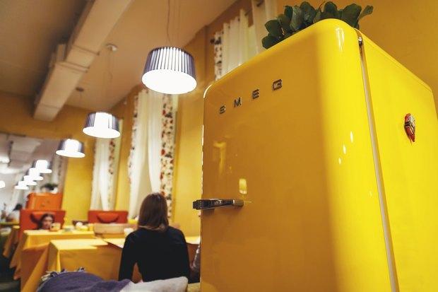 Команда кафе «Омлет» открыла новое заведение на Невском проспекте. Изображение № 2.