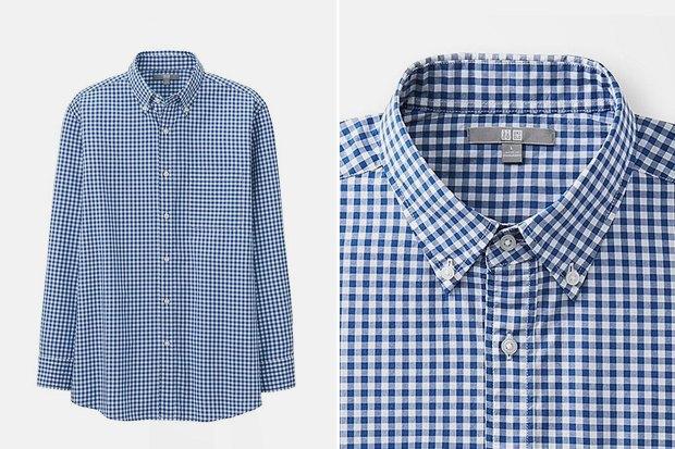 Где купить мужскую рубашку вклетку: 9вариантов отодной досеми тысяч рублей. Изображение № 2.