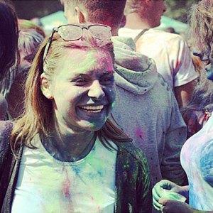 Вогнали в краску: В Киеве прошёл фестиваль «Холи». Изображение № 6.
