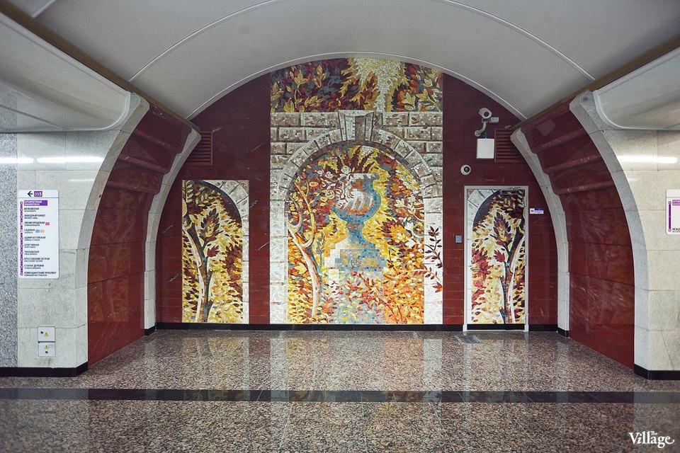 Фоторепортаж: Станции метро «Международная» и«Бухарестская» изнутри. Изображение № 10.