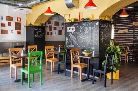 На Верхнем Валу открылось кафе «Любовь-Морковь». Зображення № 1.