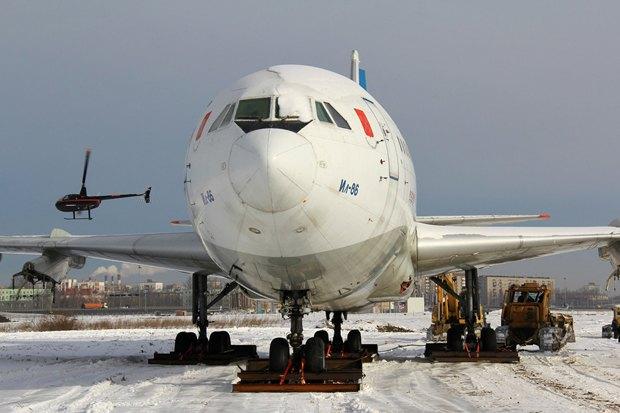 Музей авиации разместят в списанном самолёте Ил-86. Изображение № 2.