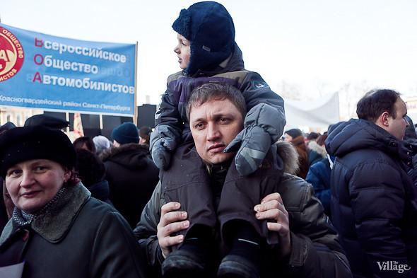 Фоторепортаж: Митинг в поддержку Путина в Петербурге. Изображение № 26.