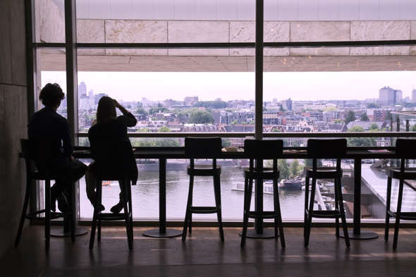 Кафе на последнем этаже библиотеки. Изображение № 18.