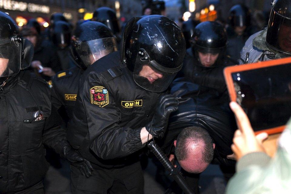 Фоторепортаж: Акция против «Болотного дела» . Изображение № 5.