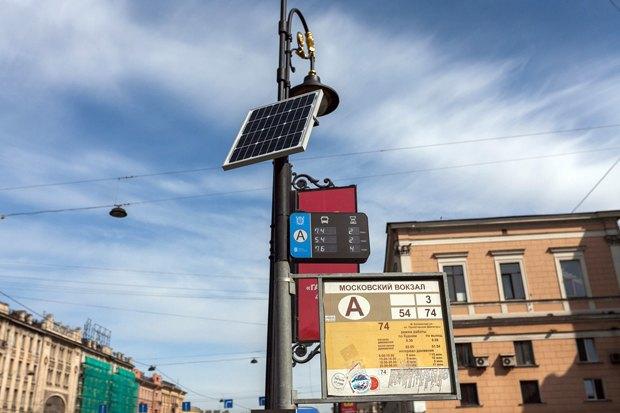 Как работают транспортные табло на солнечных батареях. Изображение № 1.