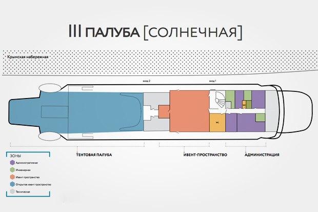 Корабль «Валерий Брюсов» на Крымской набережной станет арт-пространством. Изображение № 5.
