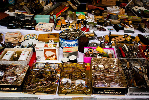 Блошиный рынок в Берлине. Фотография — Andrea Meyer. Изображение № 4.
