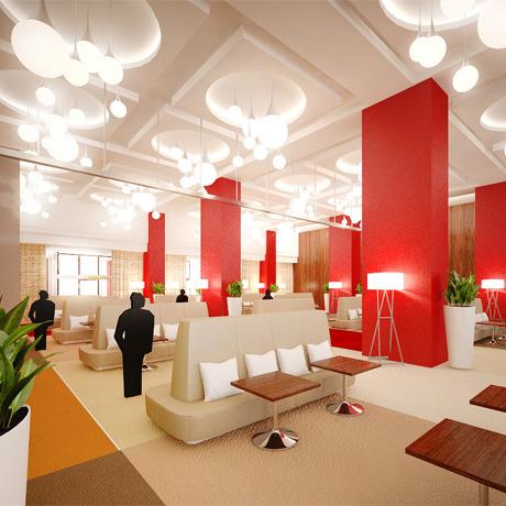Для комплекса «Парковый» разработали дизайн интерьера. Зображення № 3.