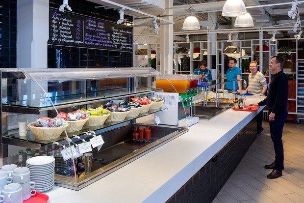 Создатели KwakInn открыли ресторан самообслуживания свидом наВасильевский остров . Изображение № 5.