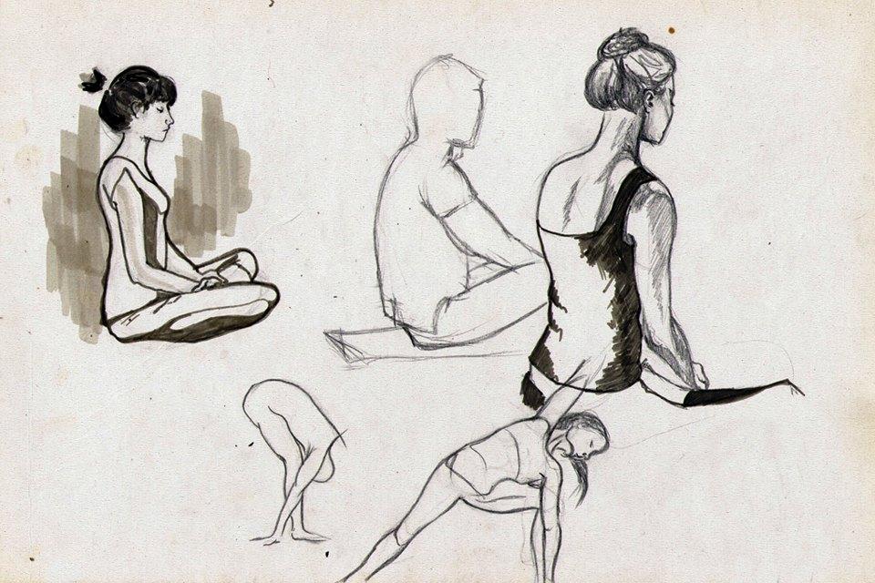 Клуб рисовальщиков: Йога. Изображение №8.