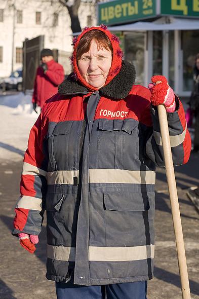 Изображение 4. Сплошные минусы: уличные работники о борьбе с холодом.. Изображение № 1.