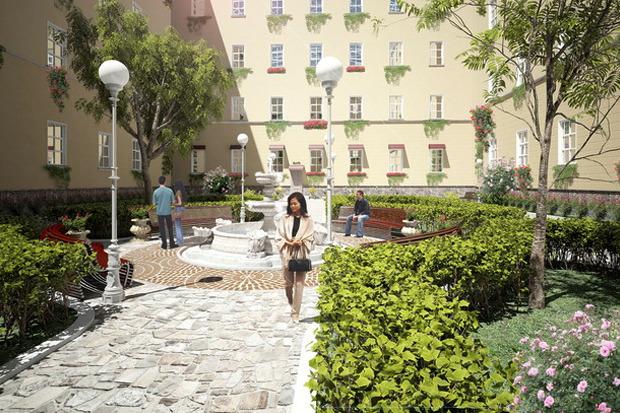 Перестройка: 5 проектов квартала вокруг Конюшенной площади. Изображение № 7.