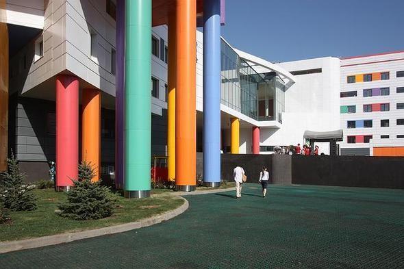 Изображение 9. На юго-западе Москвы открылась разноцветная детская больница.. Изображение № 4.