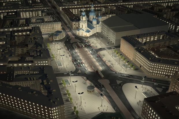 Проект преобразования Сенной площади. Изображение № 7.